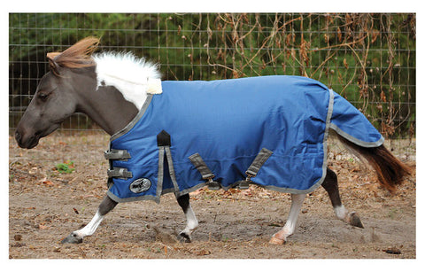 Pony Poppins Sapphire Blue Expressions Blanket - SK Tack & Supply - 1