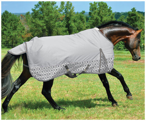 Metallic Trellis Expressions 600D Turnout Sheet - SK Tack & Supply