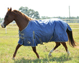 Solaris 1200D Medium Weight Draft Blanket Sapphire Blue - SK Tack & Supply - 6