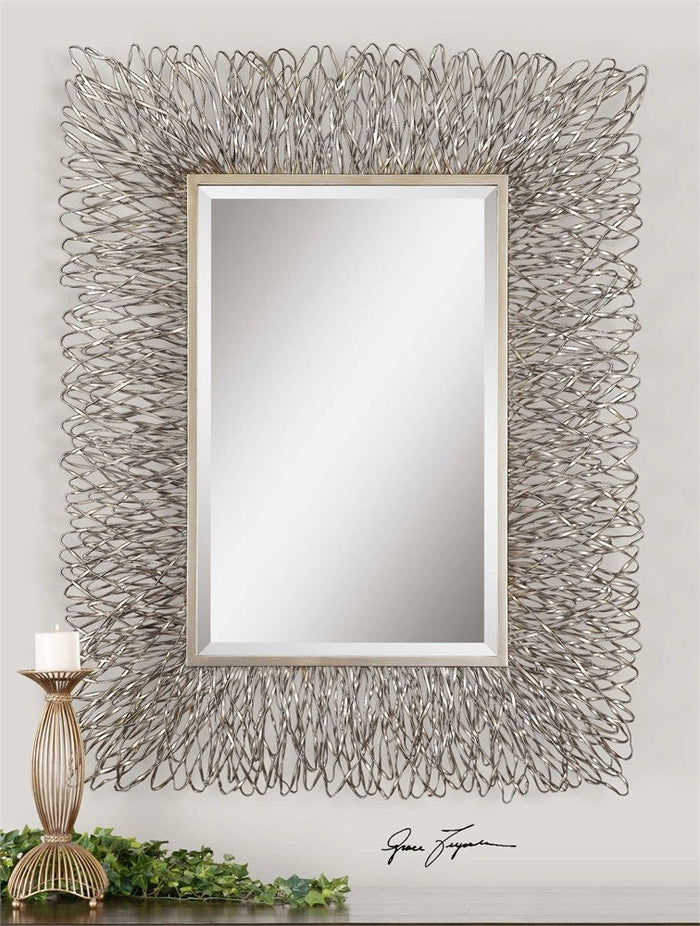 "Corbis Decorative Mirror 44""x56""x3"""