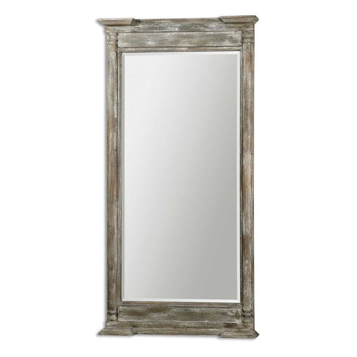 Valcellina Weathered Wood Mirror