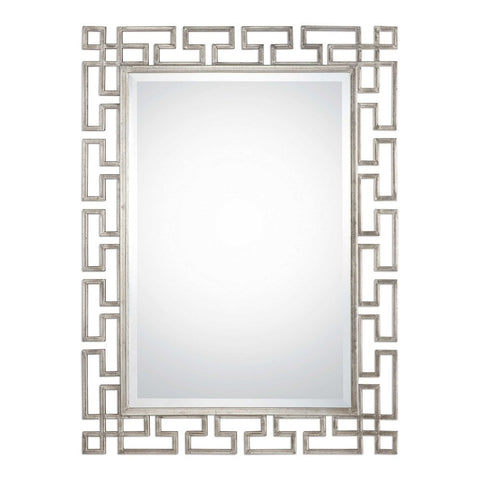Reeser Silver Mirror Ornate Mirrors Uttermost