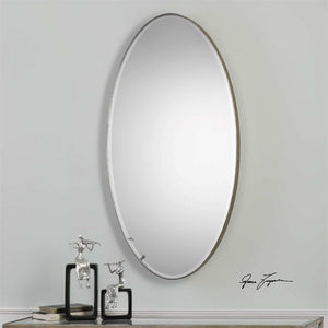 "Petra Oval Mirror 24""x48"" Oval Mirrors Uttermost"