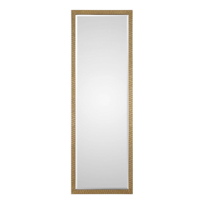 "Vilmos Metallic Gold Mirror 24""x72""x1"""