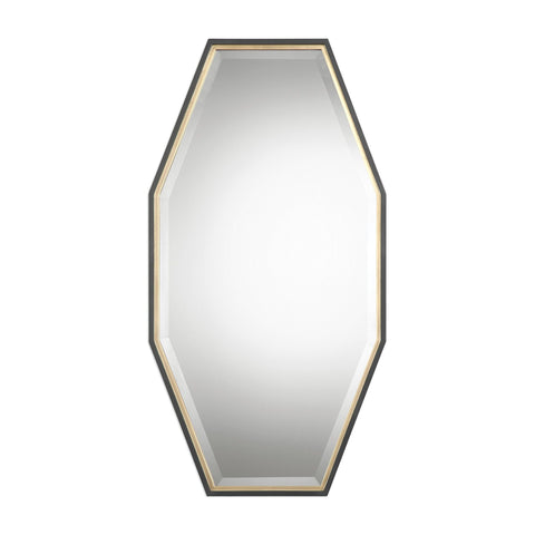 Savion Gold Octagon Mirror Decorative Mirrors Uttermost