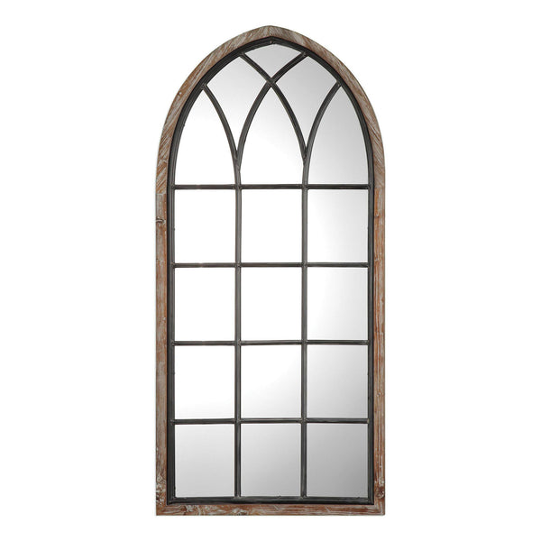 "Montone Arched Mirror 30""x63""x2"" - Classy Mirrors"