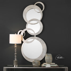 Odiana Silver Rings Modern Mirror Contemporary Mirrors Uttermost