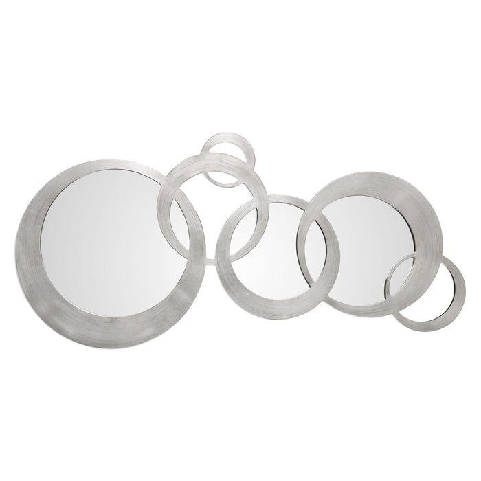 Odiana Silver Rings Modern Mirror