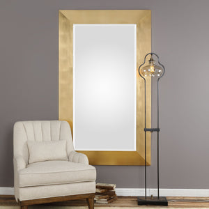 "Chaney Gold Mirror 44""x74""x3"" Gold Mirrors Uttermost"