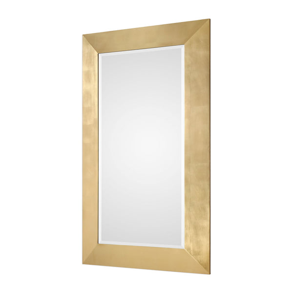"Chaney Gold Mirror 44""x74""x3"" - Classy Mirrors"