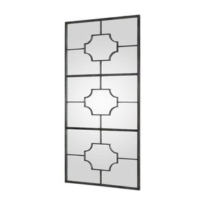 "Genell, Silver Mirror 39""x80""x1"" Decorative Mirrors Uttermost"