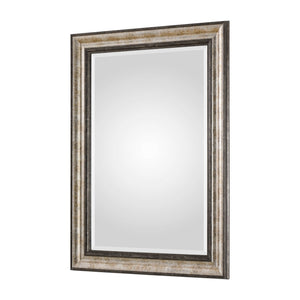 Shefford Antiqued Silver Mirror Wall Mirrors Uttermost