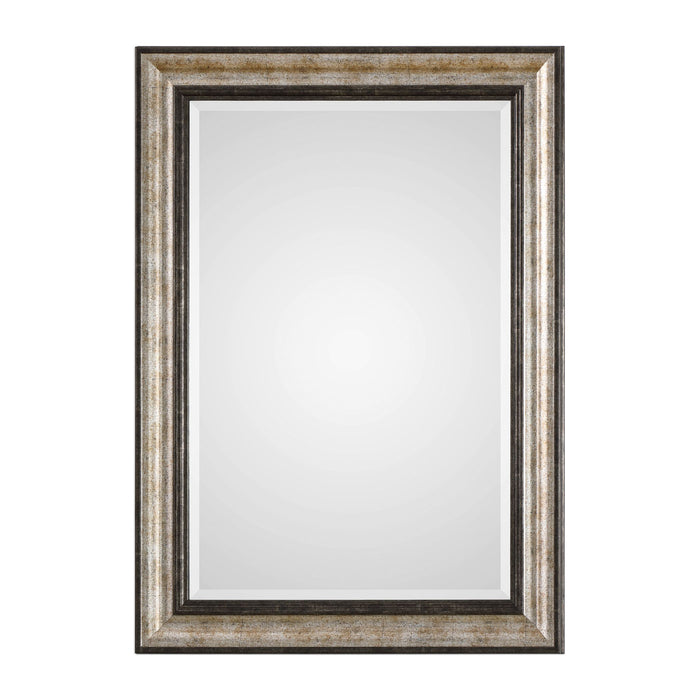 Shefford Antiqued Silver Mirror