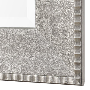 Leiston Metallic Silver Mirror Silver Mirrors Uttermost