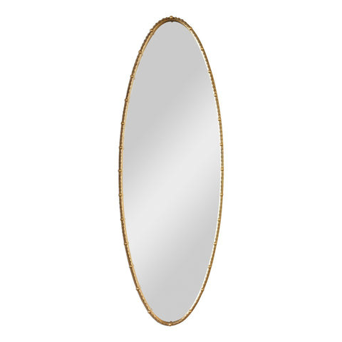 Hadea Tall Gold Oval Mirror Uttermost