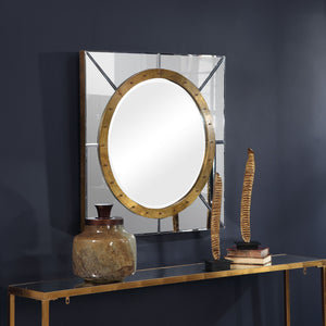 Maya Square Frameless Mirror Frameless Mirrors Uttermost