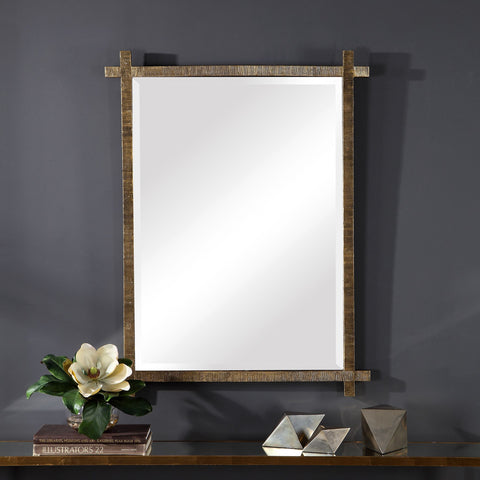 Abanu Gold Vanity Mirror Bathroom Mirrors Uttermost