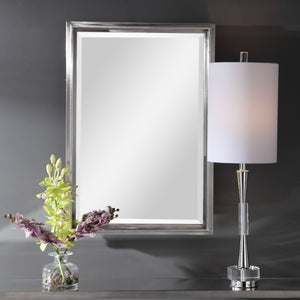 Cosimo Silver Vanity Mirror Bathroom Mirrors Uttermost