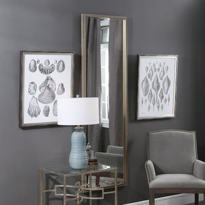 Kian Wooden Dressing Mirror Floor Mirrors Uttermost