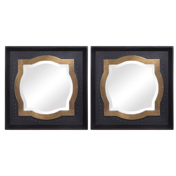 Anisah Moroccan Mirrors, Set of Two