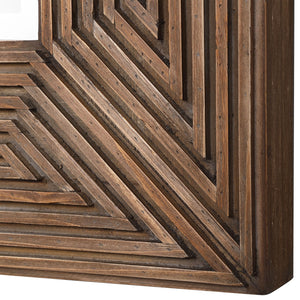 Traveler Geometric Square Mirror Uttermost