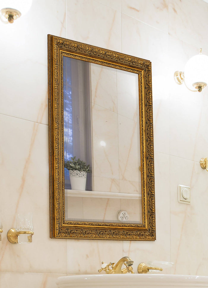 Milano Gold Mirror