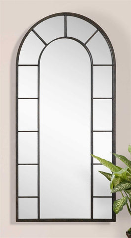 "Dillinger Arch Mirror 39""x79""x1"" Arch Mirrors Uttermost"
