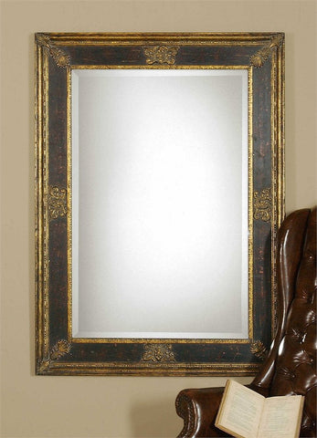 "Novia Mirror 34""X 46"" Traditional Mirrors Uttermost"