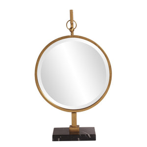 Medallion Gold Mirror Howard Elliott
