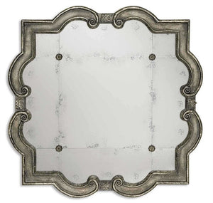Risca Small Antiqued Mirror Antique Mirrors Uttermost