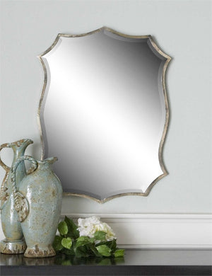 Migiana Nickel Mirror Bathroom Mirrors Uttermost