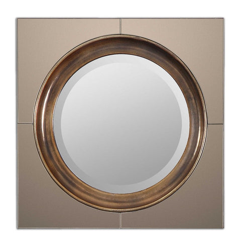 "Gouveia Decorative Mirror 20""x20""x2"" Decorative Mirrors Uttermost"