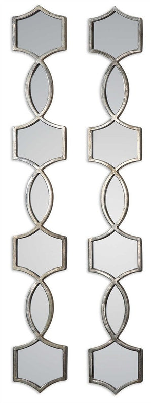 Vizela Decorative Mirrors Set of Two Decorative Mirrors Uttermost
