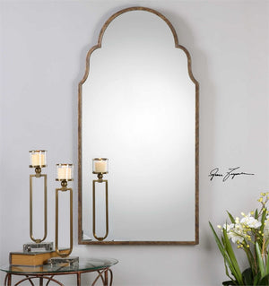Brady Tall Arched Mirror Arch Mirrors Uttermost