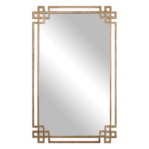"Devoll Ornate Mirror 23""x37""x1"" Bathroom Mirrors Uttermost"