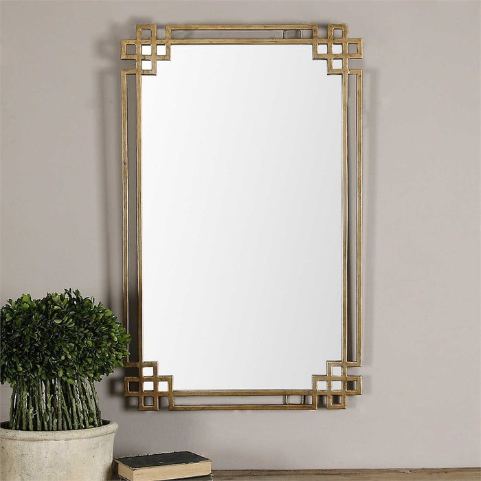"Devoll Ornate Mirror 23""x37""x1"""