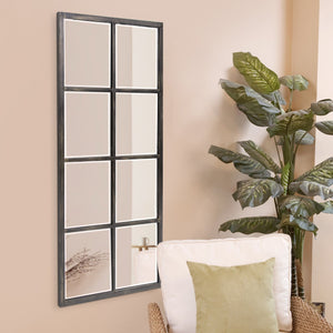 Atrium Oil Rubbed Bronze Windowpane Mirror Howard Elliott