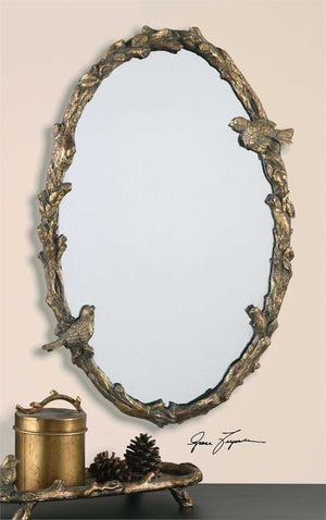 Pazzola Oval Mirror Oval Mirrors Uttermost