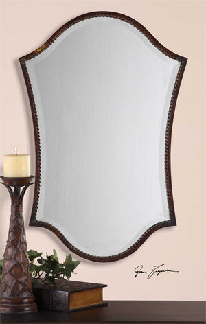 Alba Bronze Vanity Mirror Bathroom Mirrors Uttermost