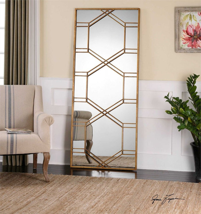 "Foggia Decorative Mirror 29""x70""x2"""