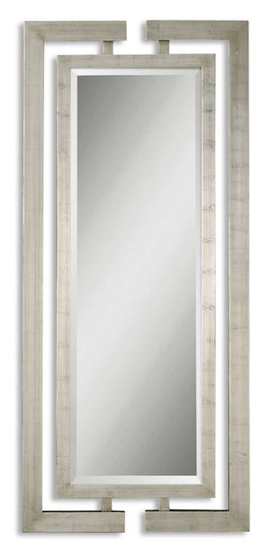 Jamal Silver Mirror Contemporary Mirrors Uttermost