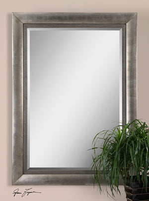 Gillford Antique Silver Mirror Large Mirrors and Leaner Mirrors Uttermost