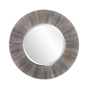 Henley Round Wood Mirror Rustic Mirrors Howard Elliott