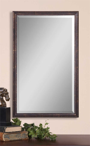 Enzo Vanity Mirror Bathroom Mirrors Uttermost