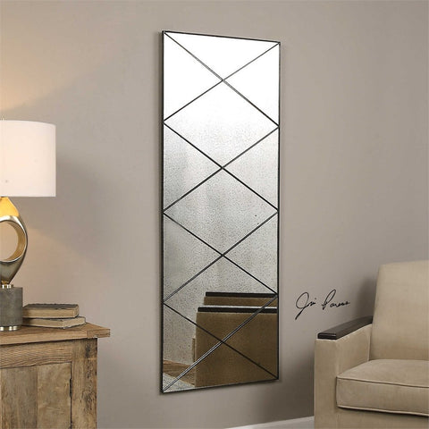 Macon Antiqued Glass Mirror Decorative Mirrors Uttermost