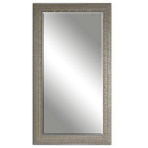 "Lara Antique Silver Mirror 39""x69""x1"" Antique Mirrors Uttermost"