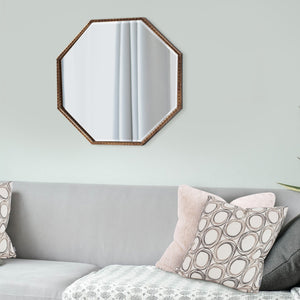 Bastian Octagon Mirror Howard Elliott
