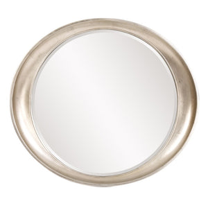 Hyannis Round Mirror Contemporary Mirrors Howard Elliott