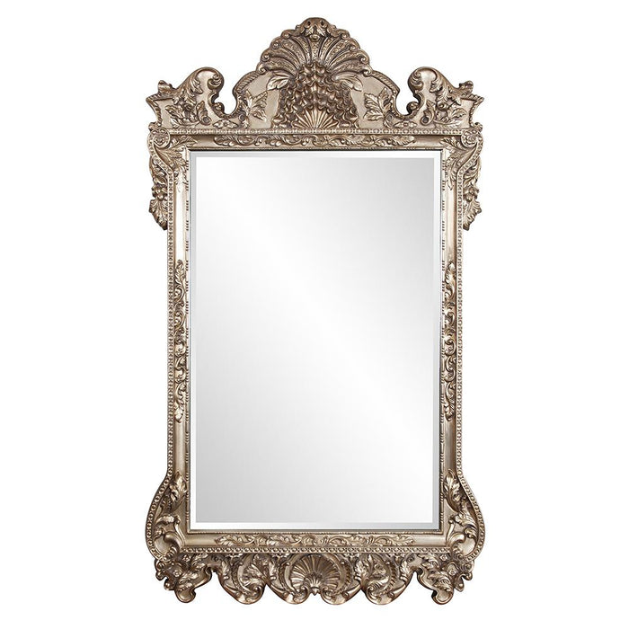 Marquette Antique Silver Mirror