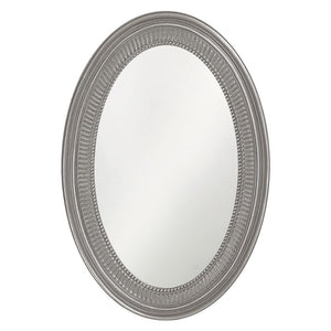 Eason Mirror Oval Mirrors Howard Elliott Glossy Nickel